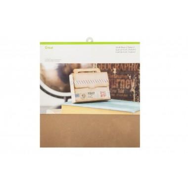 Kit cartón Kraft 12 x 12 pulg Cricut