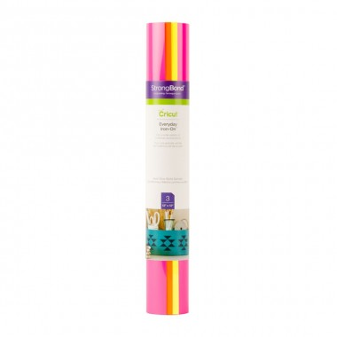 3 Hojas de Vinil Iron On Everyday Neon Glowsticks Cricut