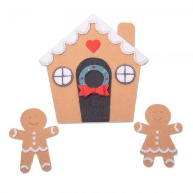 Troquel Grueso Ginger House  Sizzix Jennifer Ogborn