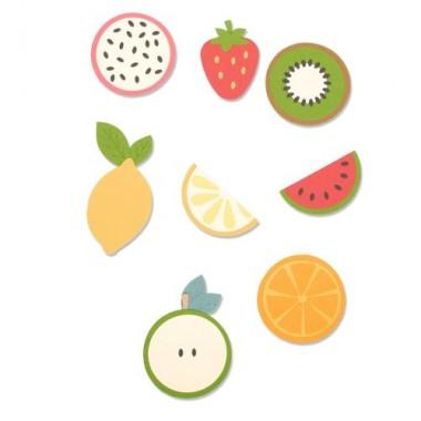 Troquel Grueso Frutas Sizzix   Laura Kate