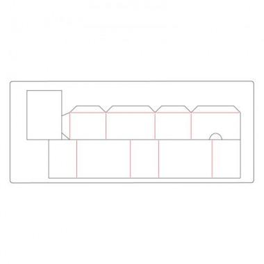 Troquel Grueso -XL- Cajon Sizzix   Eileen Hull
