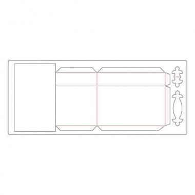Troquel Grueso -XL-Caja Tesoro Sizzix  Eileen Hull