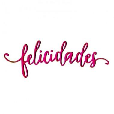 Troquel Delgado Felicidades Sizzix  L. Elena Guillen