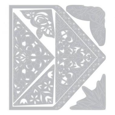 Sizzix Troquel Delgado Sobre Intricado A7 KL 10 Piezas