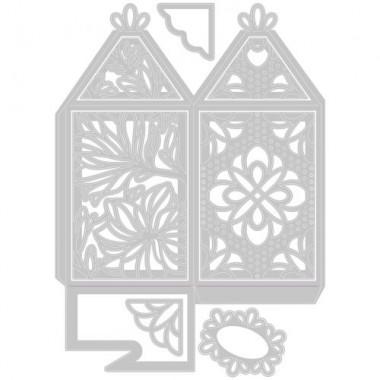 Troquel Delgado Caja Elegante Sizzix 8 Piezas