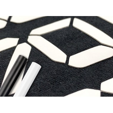 Metro de vinil textil 3D grueso para dar volumen a sus diseños Colortex® Brick