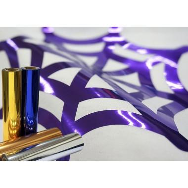 Metro de  vinil textil con acabado metálico Colortex® Metálico