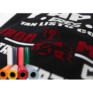 Metro de vinil textil de acabado terciopelo Colortex® Terciopelo