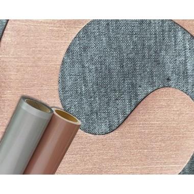 Metro de vinil textil grueso con Colortex Acabado Cepillado