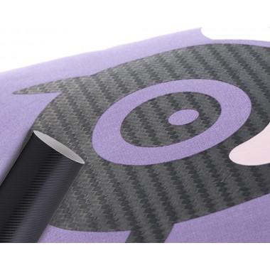 Metro de viniles textiles de corte con textura de fibra de carbono Colortex
