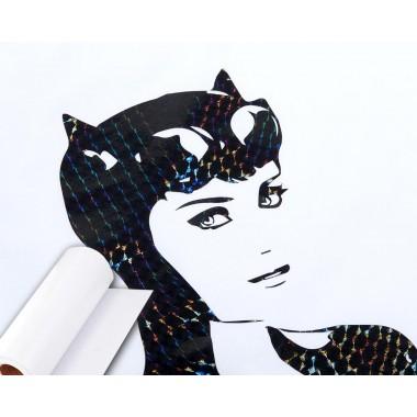 Metro de viniles textiles de corte con textura siliconada para tonos brillantes Colortex®