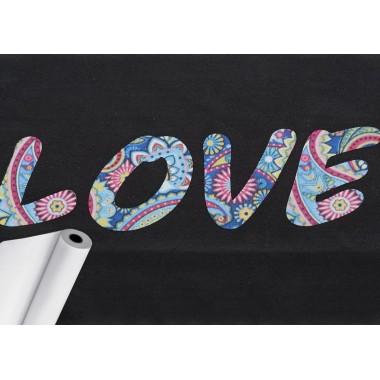 Metro de vinil textil sublimable con textura de terciopelo Colortex® Subli-Flock