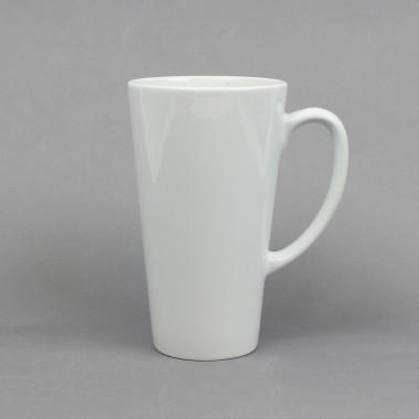 Taza blanca tipo Latte Sublimarts 17Oz