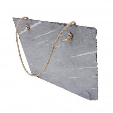 Portaretratos rectangular con cordon Sublimarts 28.8x24.2 cm