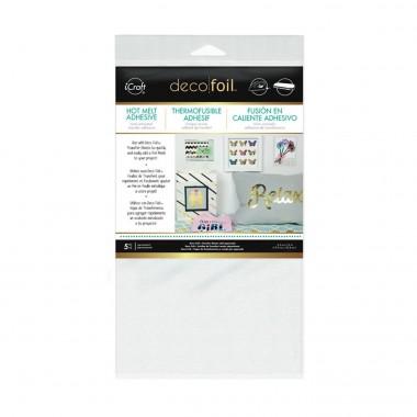 5 Hojas Adhesivas Deco Foil 5.5 x 12 pulgadas