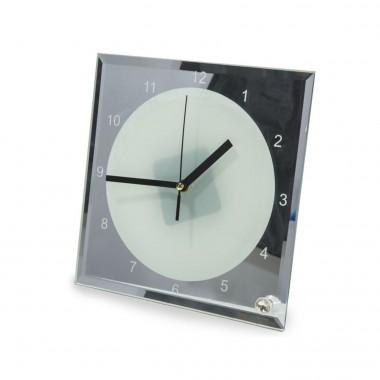 Reloj Cuadrado estilo Espejo para sublimación