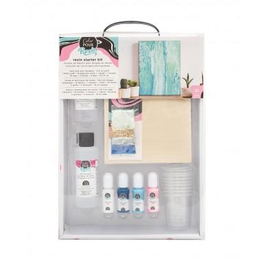 Kit de Inicio de Resina Color Pour