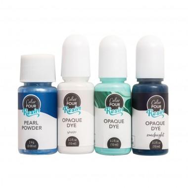 Kit de Colorantes para Resina Color Pour