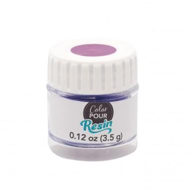 Polvo Reactivo a Calor Azul-Morado Para Resina Color Pour