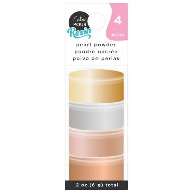 Polvo Aperlado Translúcido Metálico para Resina Color Pour