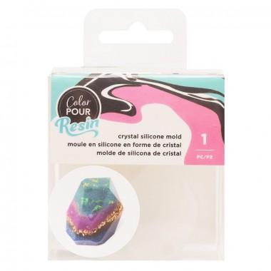 Molde para resina forma de cristal Color Pour
