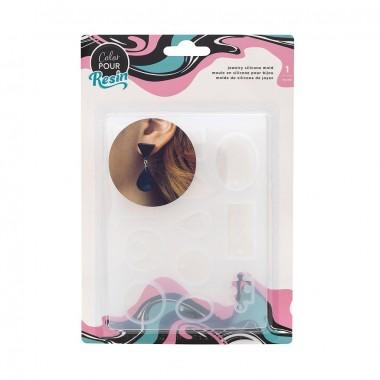 Molde para resina piezas de joyería Color Pour