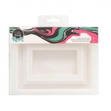 Molde para resina marco Color Pour
