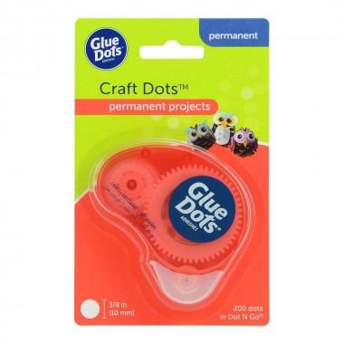 Dispensador de Gotas de Adhesivo Super Resistente Glue Dots