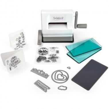 """Kit de inicio Sizzix Sidekick 2 1/2"""" para creación de tarjetas, invitaciones, estampados"""