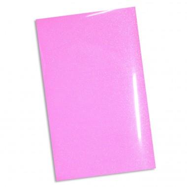 Hoja de Vinil Textil Rosa Neon Siser Glitter