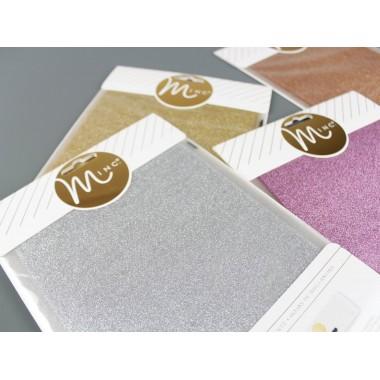"Foil para Impresión Láser Glittter 6"" x 8"""