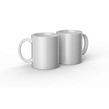 Tazas de cerámica blancas Cricut de 12 oz / 340 ml (2 pz)