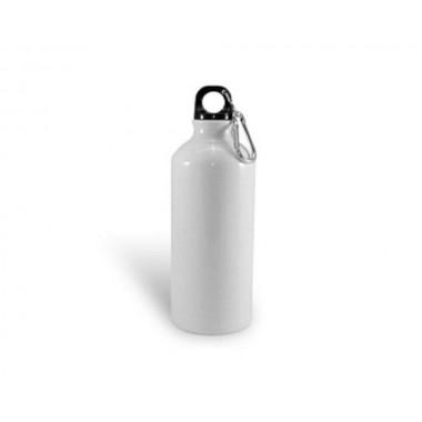 Termo de aluminio de color blanco de 600ml SublimArts