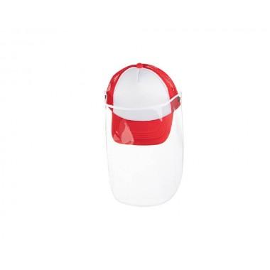 Gorra infantil de color rojo con careta Sublimarts