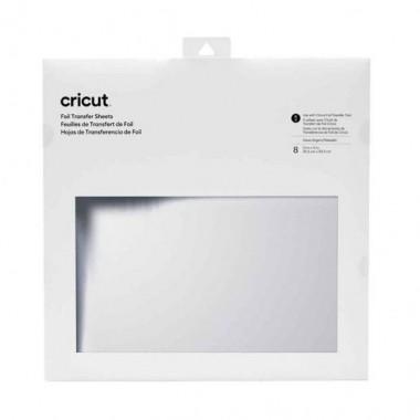 Foil Cricut Plata 12X12 (8 Piezas)