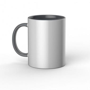 Taza de cerámica blanca/gris Cricut de 15 oz / 425 ml (1 pz)
