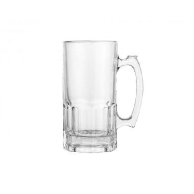 Tarro cervecero de vidrio cristal de 650 ml SublimArts