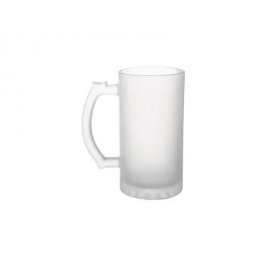Tarro esmerilado de vidrio de 473 ml SublimArts