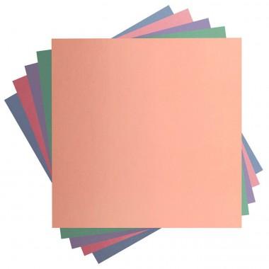 10 Hojas de Cartulina Colores Pastel de 12 x 12 pulgadas