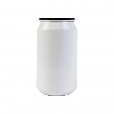 Lata de aluminio plata para sublimación Sublimarts 7.3cm x 13.4cm