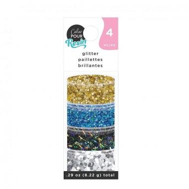 Kit de Glitter Galaxia Color Pour para decoración