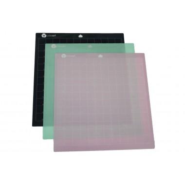 Paquete 3 Hojas Transportadoras Alternativas Lideart adhesivos varios 12x12