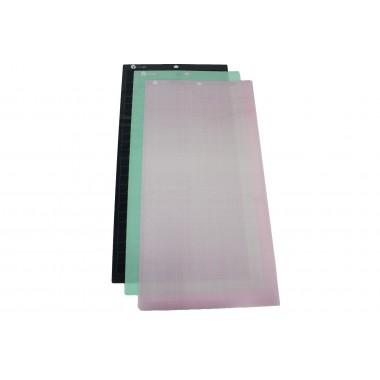 Paquete 3 Hojas Transportadoras Alternativas Lideart adhesivos varios 12x24
