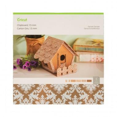 Hojas de cartón damasco para Cricut Maker 1.5 mm