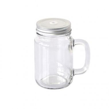 Vaso de vidrio Jarrita Mason jar para sublimación