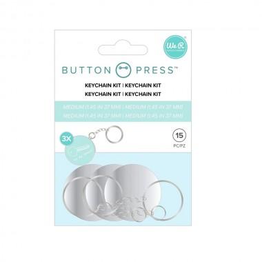 Kit de llaveros para fotobotón Button Press