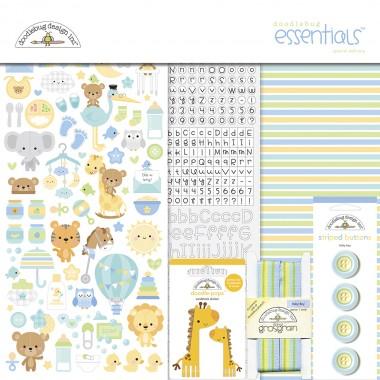 Kit de Esenciales para Scrapbook Special Delivery Doodlebug