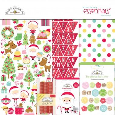 Kit de Esenciales para Scrapbook Christmas Magic Doodlebug