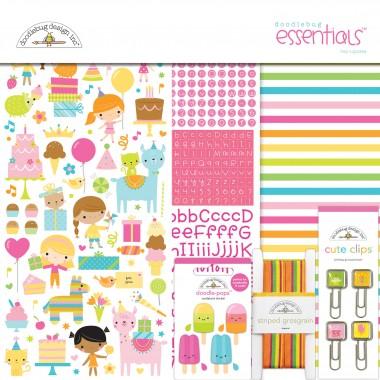 Kit de Esenciales para Scrapbook Hey Cupcake Doodlebug