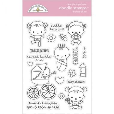 Sellos de Goma Prediseñados Bundle of Joy Doodlebug Doodle Stamps